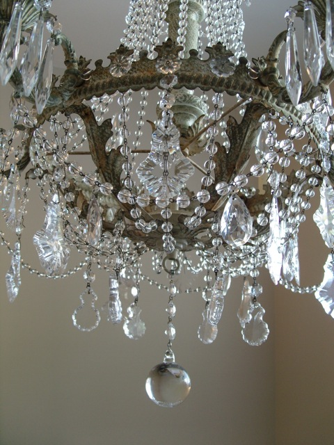 Shabby Chic Empire Chandelier Marjorie Stafford Design – Shabby Chic Crystal Chandelier