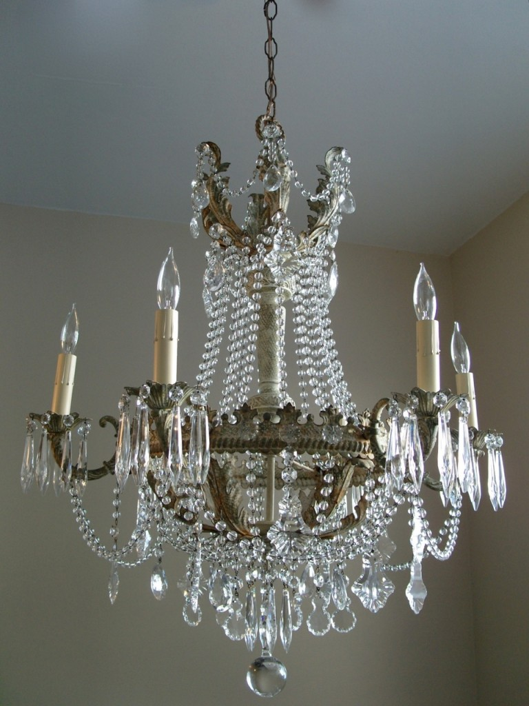 shabby chic empire chandelier marjorie stafford design