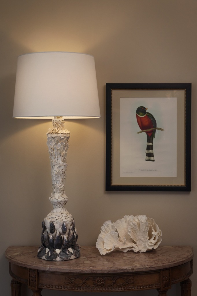 redondo beach shell lamp